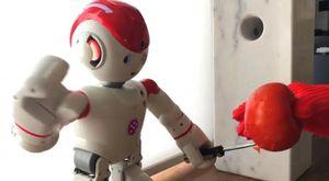 Clip hacker biến robot gia đình thành cỗ máy giết người