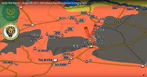 Quân đội Syria tung đòn giải quyết phiến quân, 'Hổ' Syria khép vòng vây IS