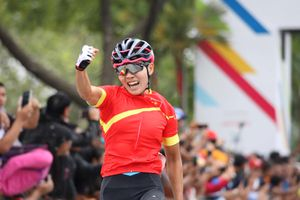 SEA Games 29: Nguyễn Thị Thật giành HCV đua xe đạp thứ 2