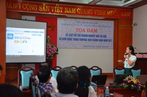 Quảng Ninh: Tọa đàm về Luật hỗ trợ doanh nghiệp nhỏ và khởi động fanpage DDCI