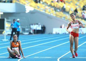 VĐV đi bộ Việt Nam ức chế vì đối thủ Malaysia chạy bộ