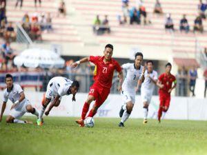 Video, kết quả bóng đá U22 Việt Nam - U22 Thái Lan: Đau tim xà ngang, cột dọc (H1)
