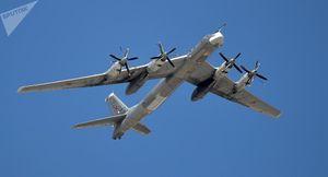 Máy bay ném bom chiến lược Nga Tu-95MS xuất hiện gần Bán đảo Triều Tiên