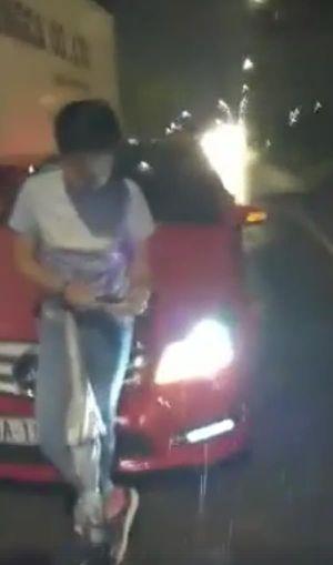 CSGT thông tin về vụ danh hài Trường Giang va quẹt xe