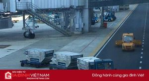 Xe đầu kéo tông chết nữ nhân viên trên đường công vụ sân bay Nội Bài