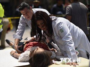 Người dân Mexico chưa hết bàng hoàng sau trận động đất