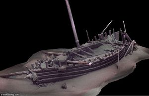 Tận thấy xác 60 tàu đắm từ thời Trung cổ trong lòng Biển Đen