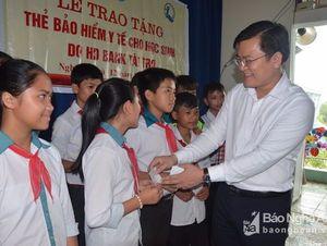 Quỳnh Lưu: Khó khăn trong công tác bao phủ BHYT học sinh