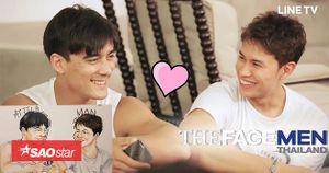 Mặc ai ở ai về, cặp đôi 'Final Walk' The Face Men Thailand vẫn ngọt ngào 'không rời nhau nửa bước'