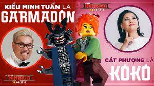 Cát Phượng và con trai đối đầu với Kiều Minh Tuấn trong phim hoạt hình mới