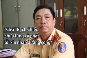 CSGT Rạch Chiếc: 'Chưa từng xử phạt xi nhan đường cong'