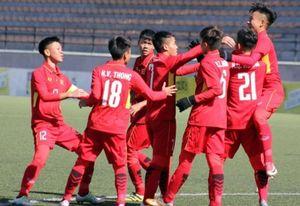 'Chấp' Campuchia 1 người, U16 Việt Nam vẫn đại thắng 5-2