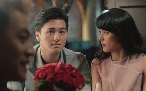 Hạ Vi và Huỳnh Anh có nhiều cảnh tình cảm trong MV của Đăng Khôi