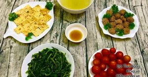 Bữa cơm 4 món đơn giản mà 'ngon thôi rồi'