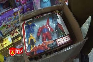 1 tuần phát hiện gần 4.000 sản phẩm đồ chơi Trung thu nhập lậu