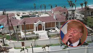 Biệt thự tan hoang sau siêu bão, ông Trump rao bán nhưng chẳng 'ma nào mua'
