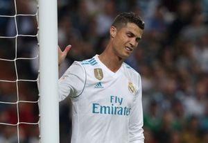 Ronaldo tái lập kỷ lục buồn ở trận thua của Real