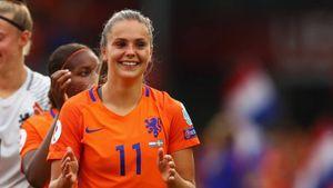 Lieke Martens: Nữ cầu thủ xuất sắc nhất châu Âu 2017