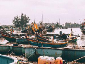 Chiêm ngưỡng vẻ đẹp bình dị của cảng cá Lộc An nhộn nhịp