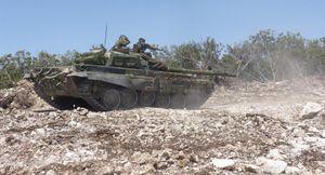 Quân đội Syria đánh tan phiến quân, 50 tay súng Al-Qaeda bị diệt ở Hama (video)