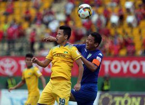 Vòng 19 V-League: B.Bình Dương và SLNA hòa nhạt nhòa