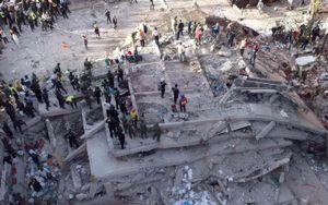 Đất mềm như thạch khiến động đất ở Mexico gây nhiều chết chóc