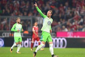 Bayern Munich 2-2 Wolfsburg: Cầm vàng để vàng rơi
