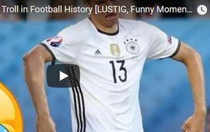 Những tình huống hài hước nhất của 'thánh troll' Thomas Muller