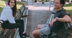 Hồ Ngọc Hà đăng ảnh dìm hàng Kim Lý khi đi chơi công viên ở Mỹ
