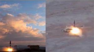 Iran bắn thử thành công tên lửa đạn đạo mới