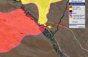Quân Syria quyết quét sạch IS tại Deir Ezzor, Nga đanh giọng đe Mỹ-Kurd