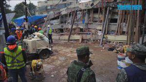 Mexico tuyệt vọng tìm kiếm những người sống sót