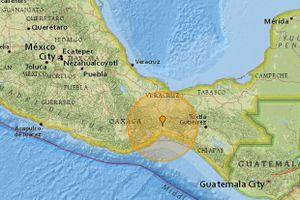 Động đất mạnh lại xảy ra gần thủ đô Mexico