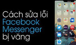 Cách sửa lỗi không đăng nhập được Facebook Messenger trên iOS