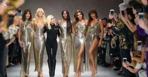 5 người mẫu huyền thoại tái hợp tại show xuân hè 2018 của Versace