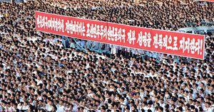 Biển người Triều Tiên biểu tình chống Mỹ