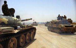 'Hổ Syria' nghiền nát IS, giải phóng toàn bộ sa mạc Deir Ezzor - Raqqa (video)