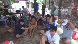 Triệt phá tụ điểm đá gà qua mạng ở vùng ven Sài Gòn