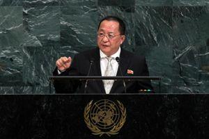 Ngoại trưởng Triều Tiên: Dội tên lửa Mỹ là điều khó tránh khỏi