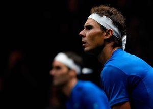 Highlights Federer và Nadal lần đầu đánh cặp