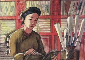 Bà Huyện Thanh Quan và chuyện thay chồng thăng đường xử án