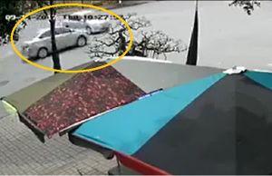 Clip: Hai ôtô tông nhau như phim hành động tại Hưng Yên