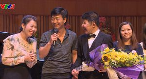 MC Diệp Chi 'ấm ức' khi làm chương trình về bố con diễn viên Quốc Tuấn