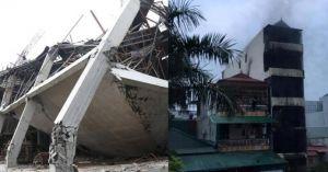 Clip hot tổng hợp:Sập trường mẫu giáo, cháy nhà 5 tầng 2 bé tử vong