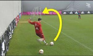 11 pha biểu diễn đá phạt kỹ thuật hiếm thấy trong bóng đá