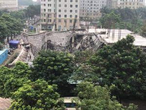 Chủ tịch Hà Nội yêu cầu báo cáo ngay vụ sập trường mầm non