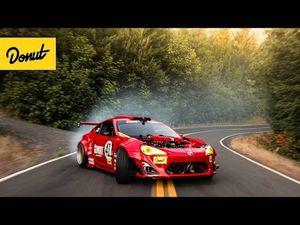 Video Toyota 86 lắp máy Ferrari 458 gặp tai nạn khi drift