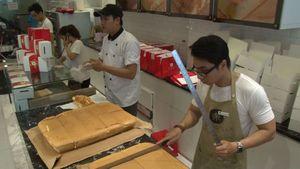 Giải mã bánh bông lan Đài Loan đang sốt ở Sài Gòn