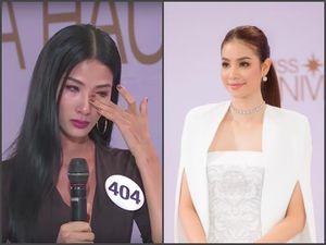 Cuối cùng, Hoàng Thùy đã phải rơi lệ vì Phạm Hương ở Hoa hậu Hoàn vũ