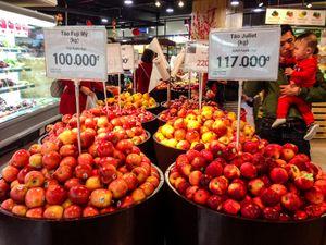 Việt Nam chi hơn 1 tỷ USD nhập khẩu rau quả trong 8 tháng đầu năm